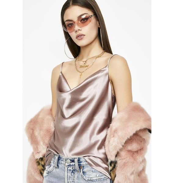 Sweet Intoxicating Luv Satin Top