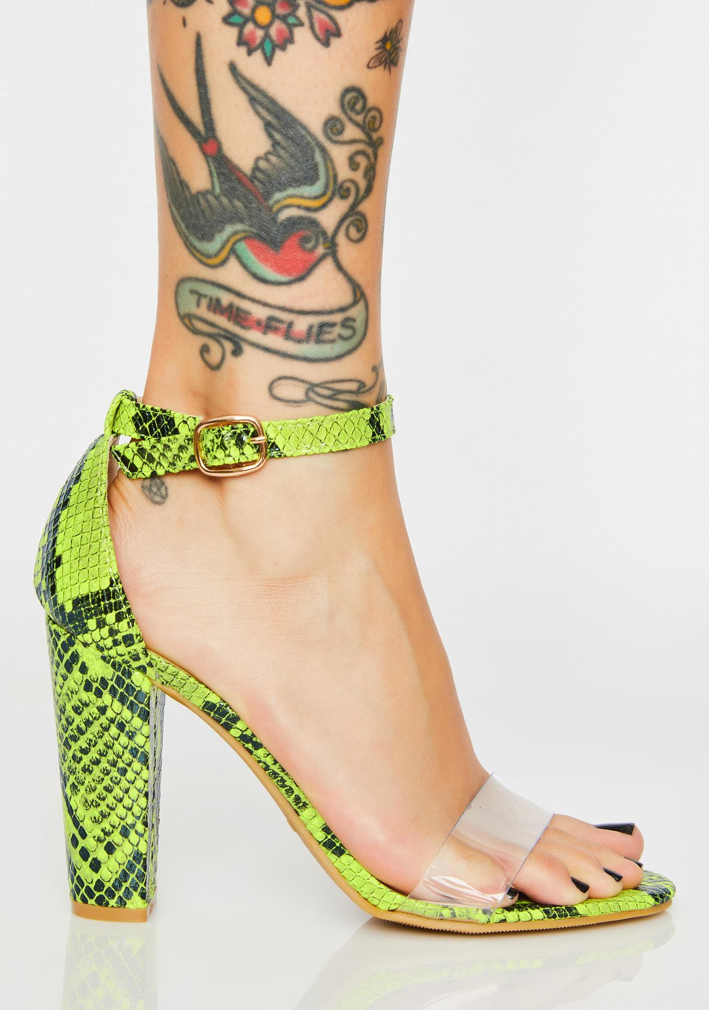 Shook Divine Demon Block Heels