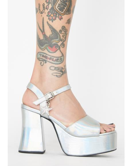 Starry Eyed Surprise Platform Heels