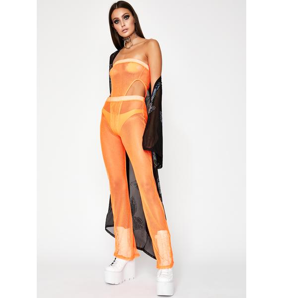 Juicy Rated Naughty Mesh Bodysuit