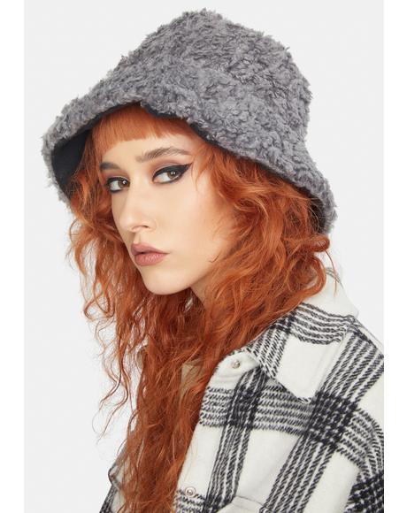 Dove Hot Head Sherpa Bucket Hat
