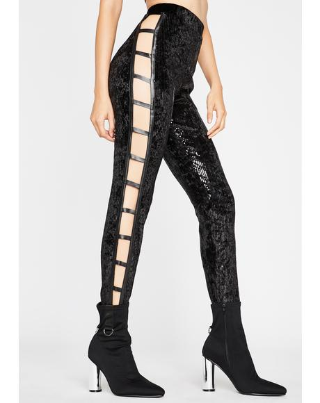 Disco Dancer Cut Out Leggings