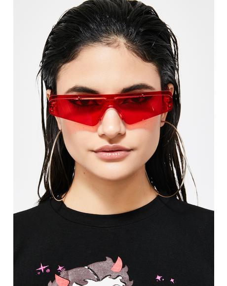 Flamin' Selfie Specs Sunglasses