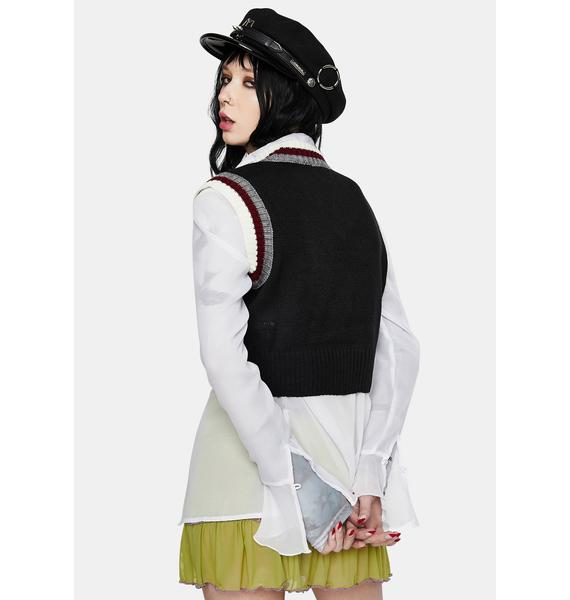 The Ragged Priest Genius Knitted Vest