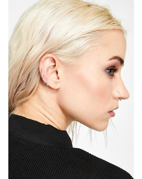 Vile Misfit Ear Cuff Set