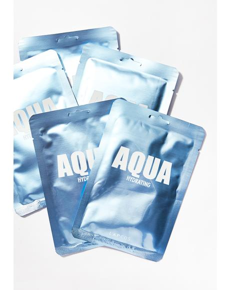 Aqua Hydrate Mask Set of 5