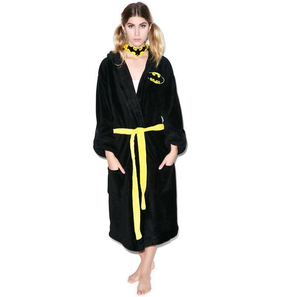Undergirl Batman Hooded Robe