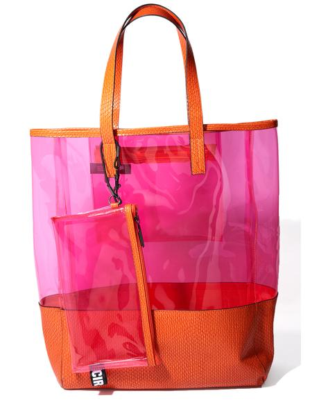 Adley Pink Tote
