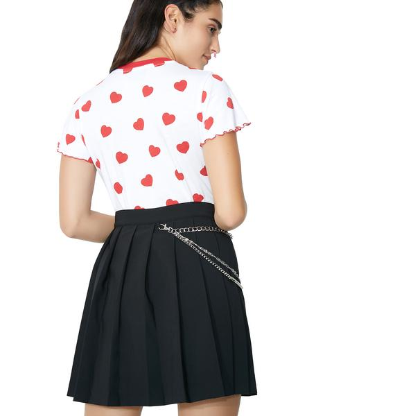 Lazy Oaf Charm Chain Skirt