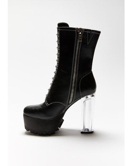 Convicted Vixen Platform Boots
