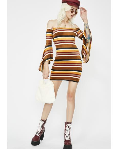 Dolly Haze Stripe Dress