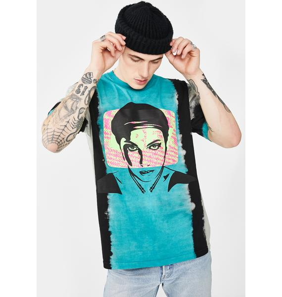 Obey Static Lotus Graphic Tee