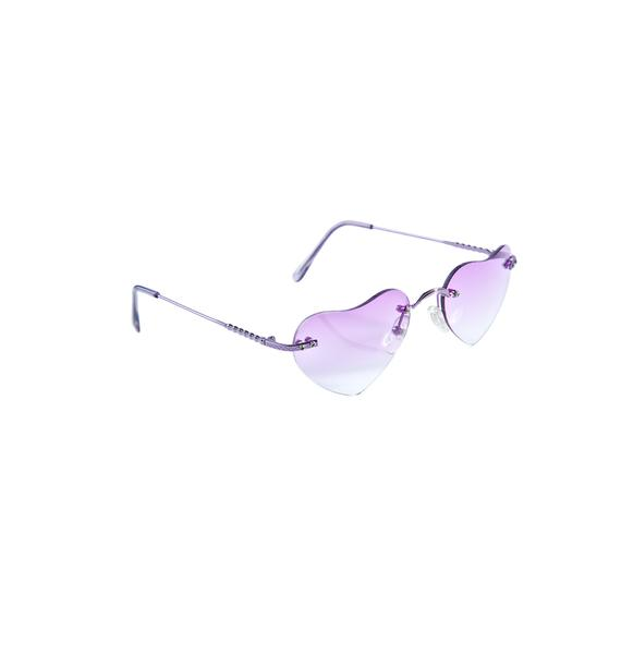 Lolita Hearts Sunglasses