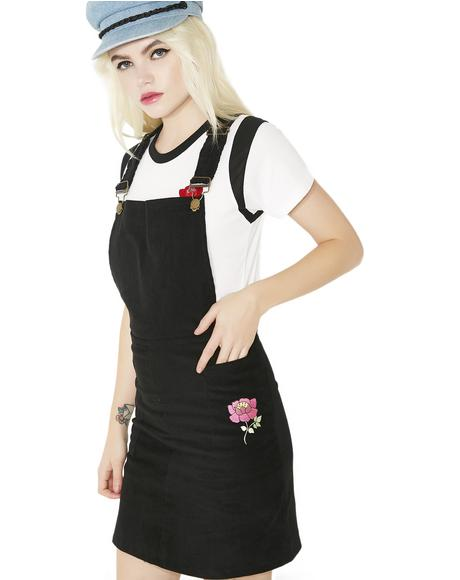 Petra Pinafore Dress