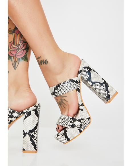 Fierce Fifth Avenue Flirt Platform Heels