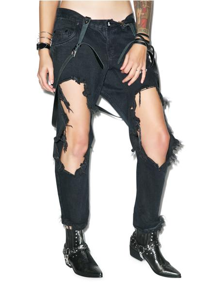 Fox Black Lonely Boy Jeans