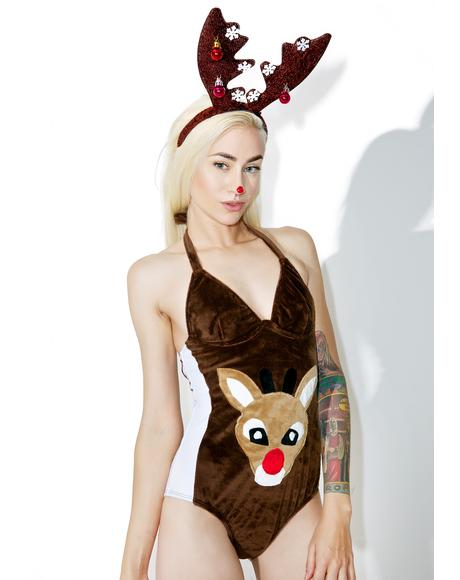 Like A Red Nose Romper