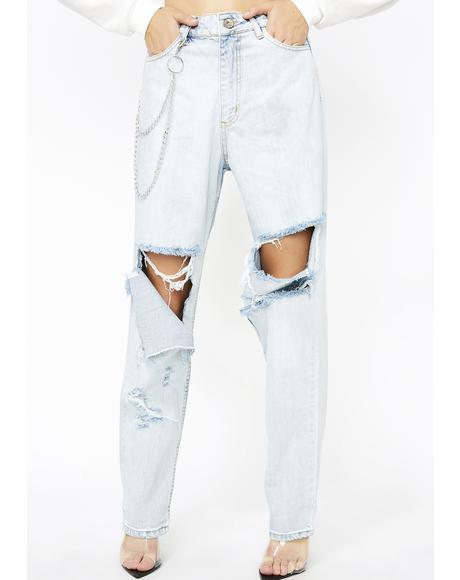 Maliboo Distressed Jeans