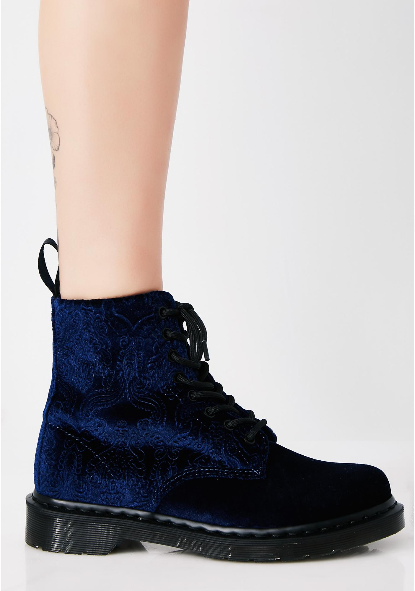 Women's 1460 Brocade Combat Boot