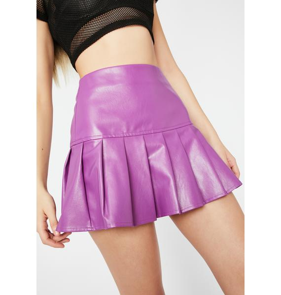 Galactic Dreamer District Pleated Skirt