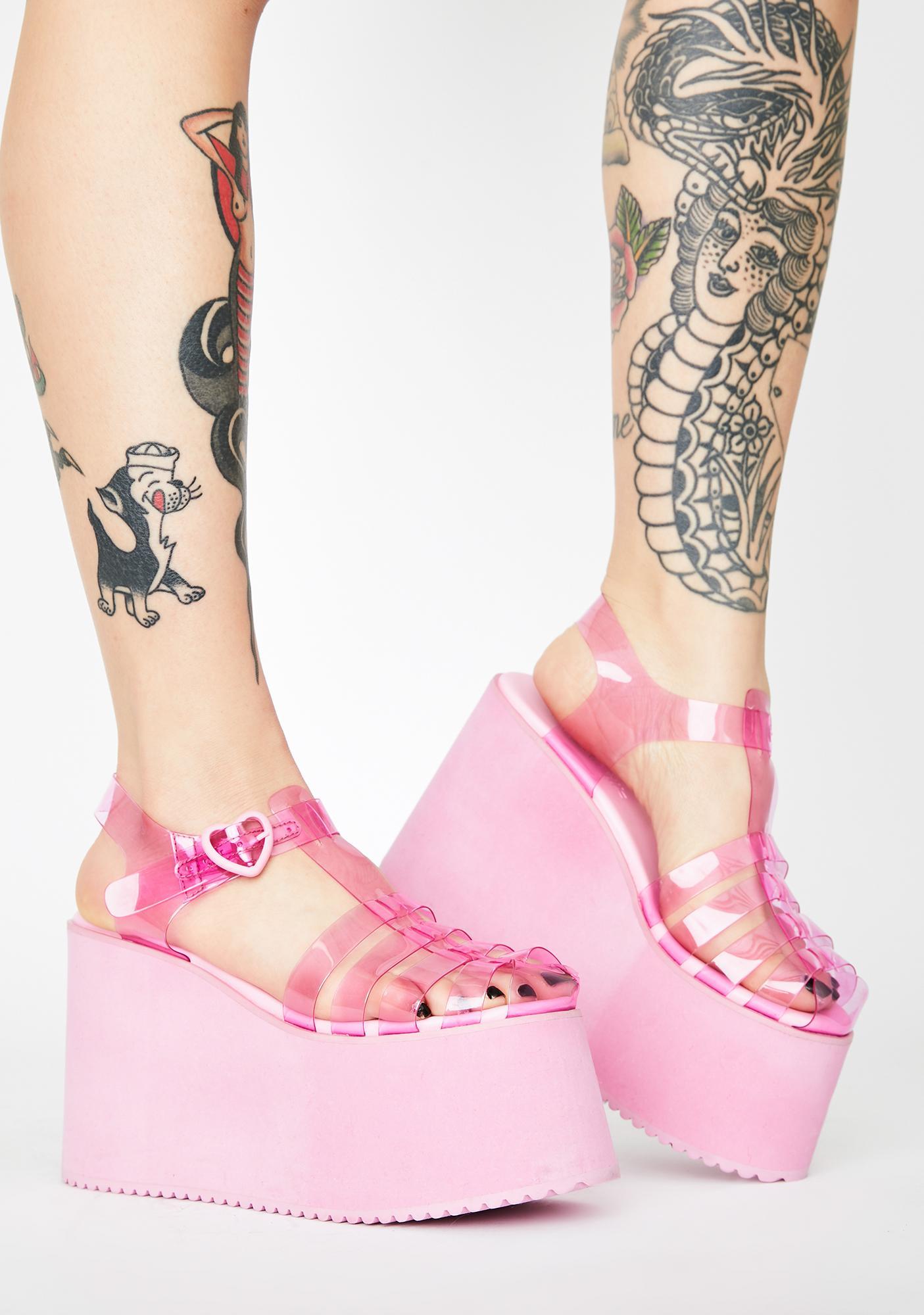 Sugar Thrillz Sugar Rush Jelly Sandals