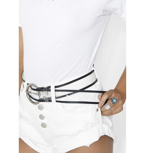 Factory Girl Transparent Belt