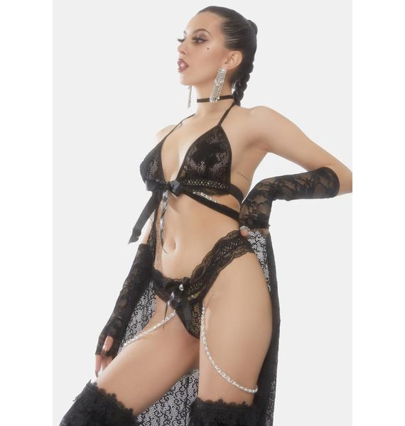 Been A Bad Girl Cut Out Lingerie Set