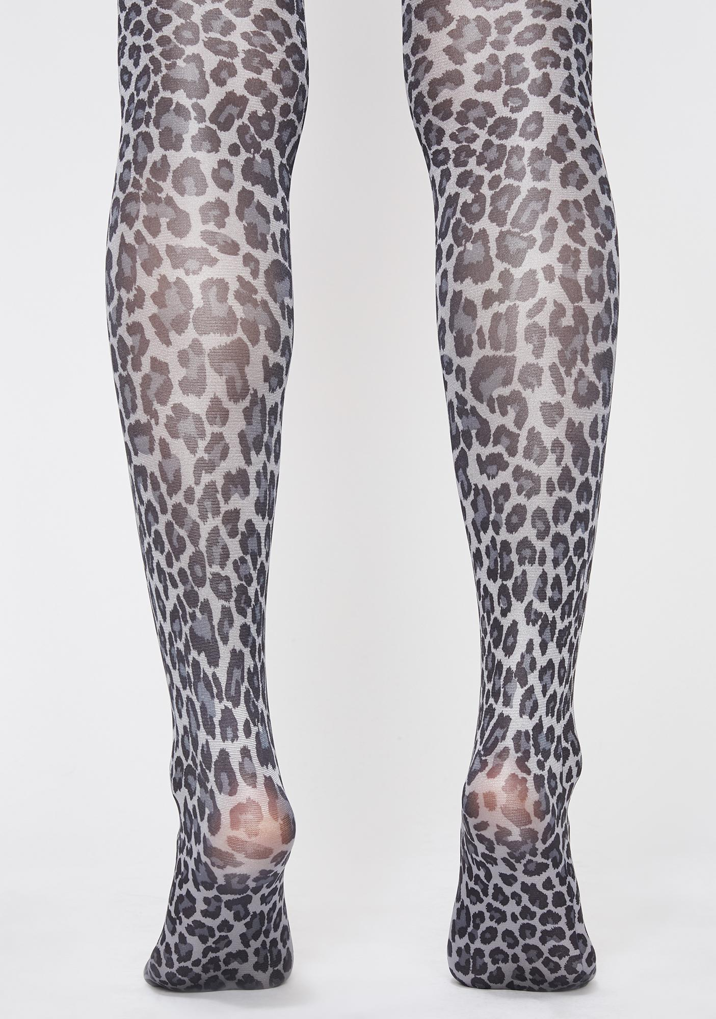 Hey Kitty Gurl Leopard Tights