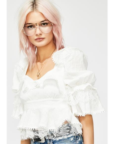 Angel Soul Ruffled Blouse