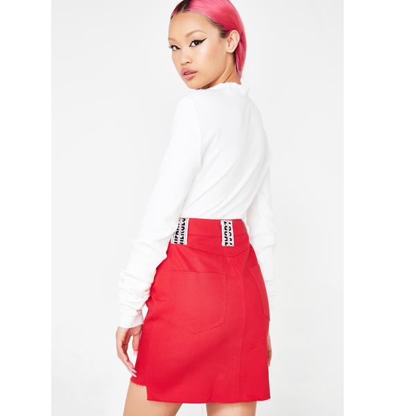 Local Heroes Red Hot Skirt