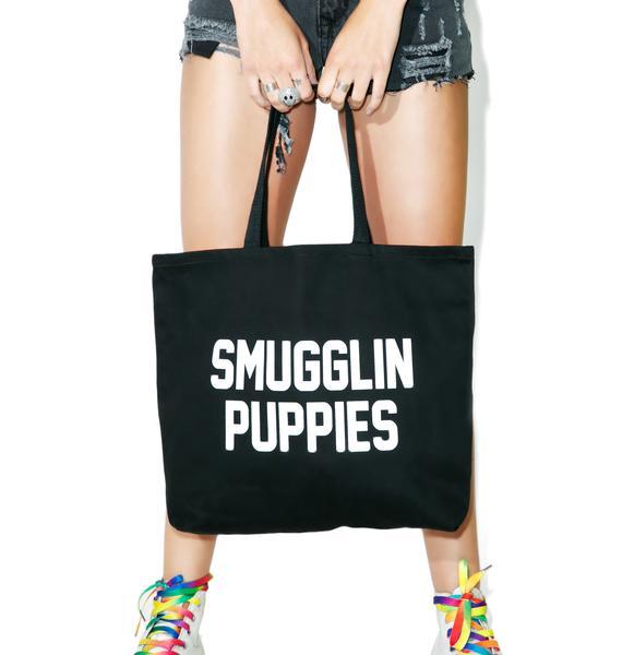 Smugglin' Puppies Tote