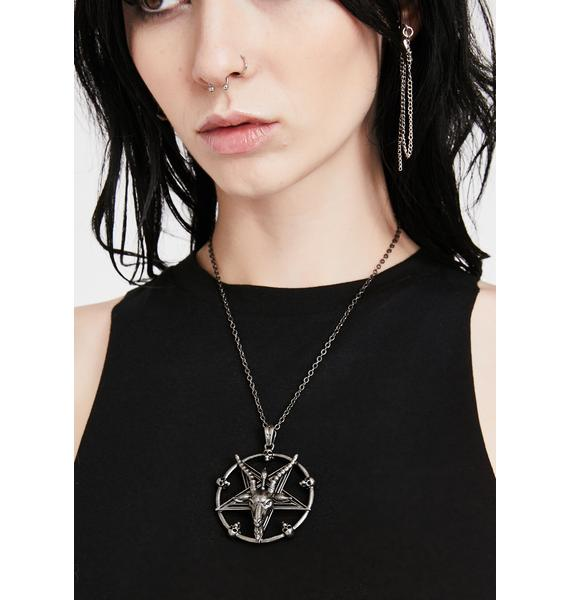 Killstar Dark Prince Pendant Necklace