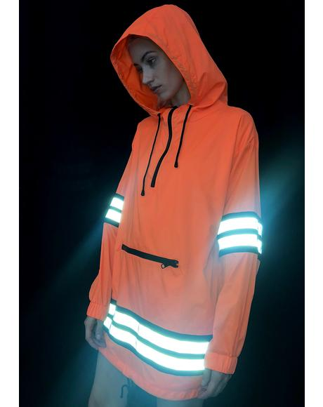 Proceed With Caution Reflective Parka
