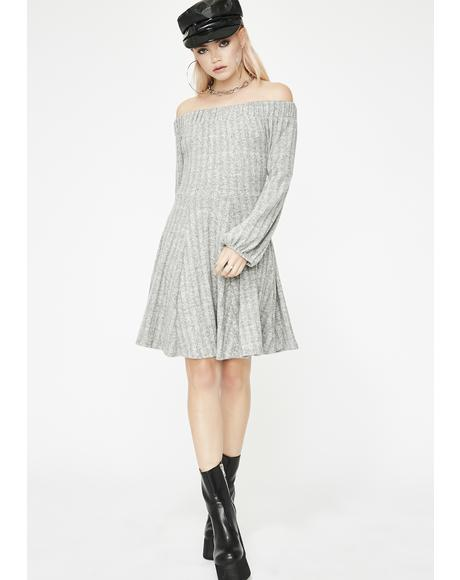 Waiting For You Sweater Dress