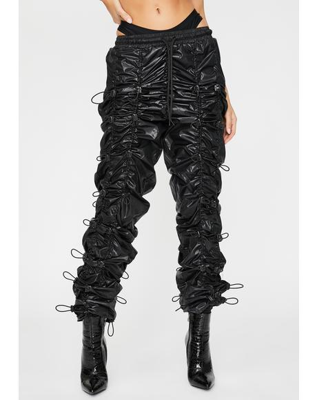Don't Get It Twisted Ruched Joggers