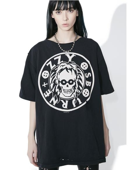Vintage Ozzy Off-Shoulder Tee