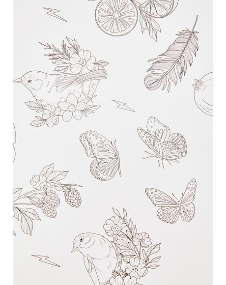 x Sophie Rimmer Birds Tattoos