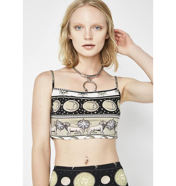 Motel Eclipse Kini Crop Top