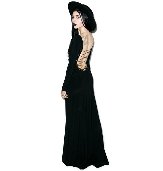 Black Wednesday The Black Magick Dress