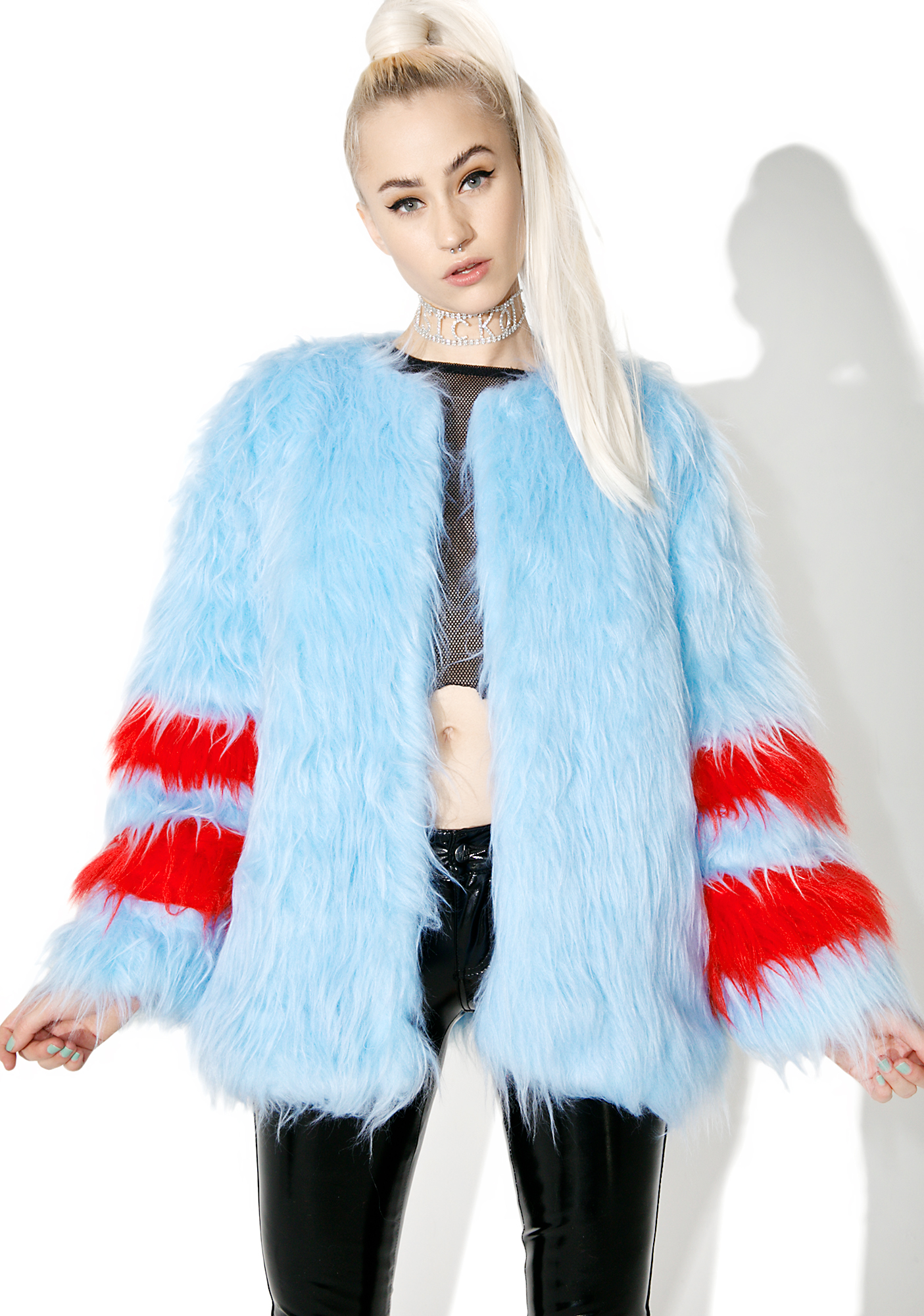 Isolated Heroes Ziggy Faux Fur Coat