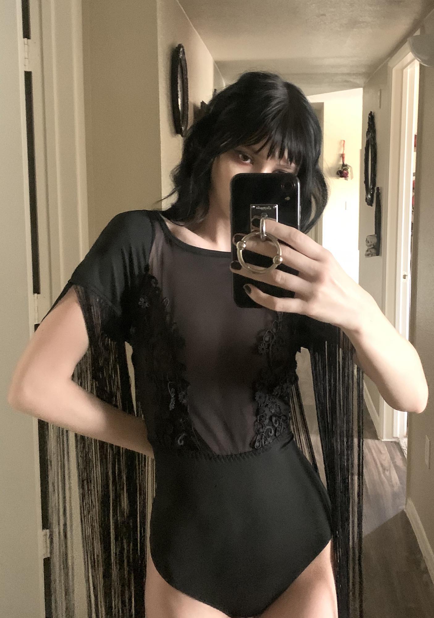 Regalia Baroque Tassle Bodysuit