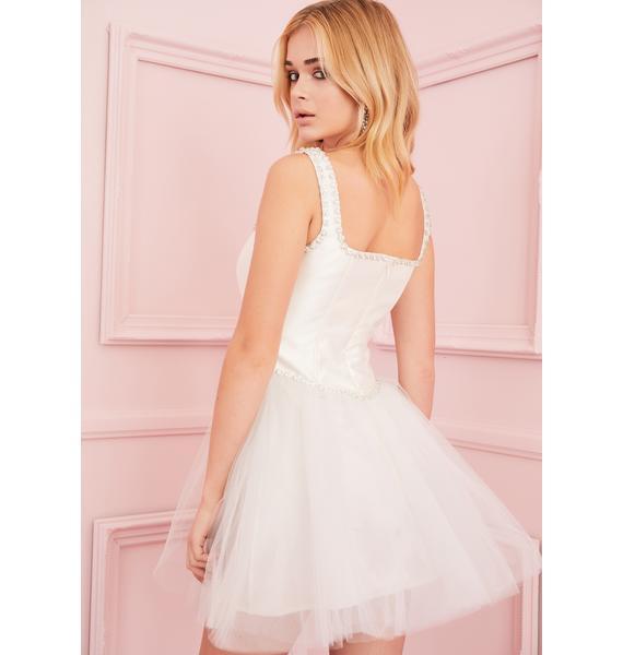 Sugar Thrillz Polished Pirouette Corset Dress