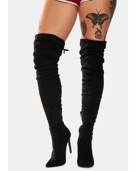 Give Me More Thigh High Boots