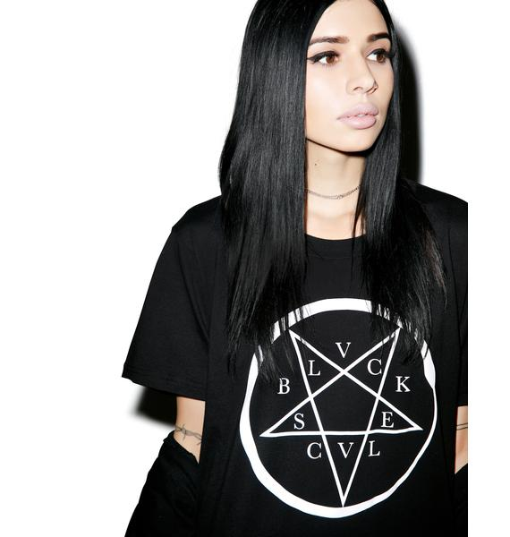 Black Scale Serpenta T-Shirt