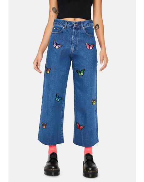 Butterfly Skater Jeans