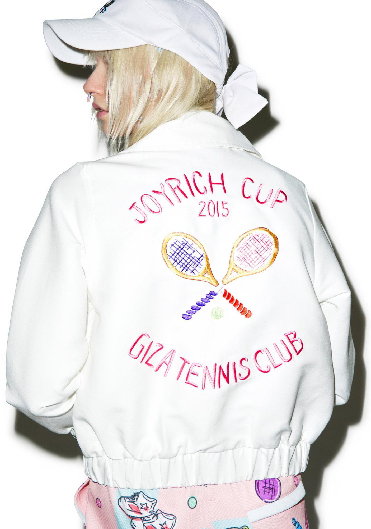 Joyrich X GIZA Tennis Club Cropped Jacket