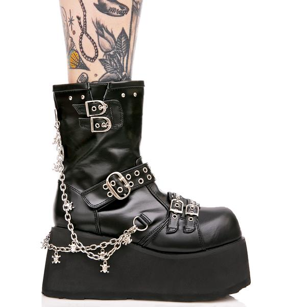 Demonia Maleficent Platform Boots
