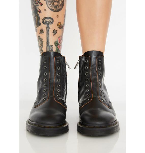 Dr. Martens Onyx 1460 Laceless Boots