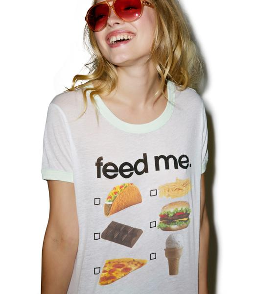 Wildfox Couture Drive Thru Window Vintage Ringer Tee