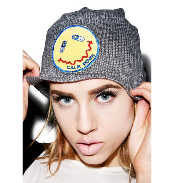 Lauren Moshi Dede Calm Down Patch Beanie